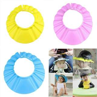 Kid Baby Shampoo Shower Bathing soft Cap + free postage