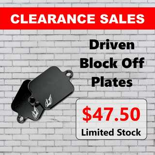 Driven Block Off Plates Clearance