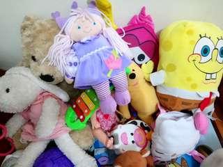Stuff toys bargain soon