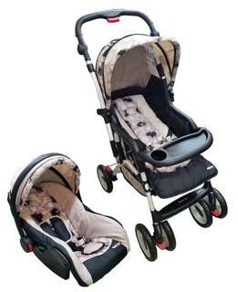 Stroller & Car Seat for Baby 1 Set