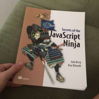 Secrets of the JavaScript Ninja - John Resig Bear Bibeault