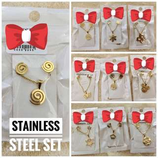 Pwede COD!!! Sale Stainless Steel Set