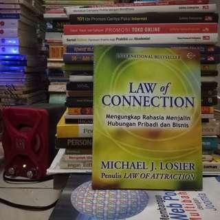 Law of Connection Mengungkap Rahasia Menjalin Hubungan Pribadi Dan Bisnis