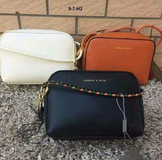 Authentic Charles & Keith Sling Bag