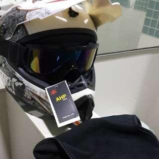 Scrambler Helmet (New)