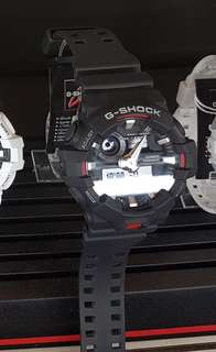 Dijual Credit G-Shock GA-110BW-1ADR Cukup Bayar Admin