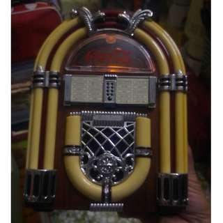 COCA-COLA 可口 可樂 懷舊 收音機