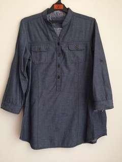 Denim Shirt/Kemeja (blouse) denim