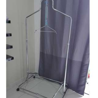 Stainless Steel Baby Spring Cot - 5 springs (including 2 sleeping nets)