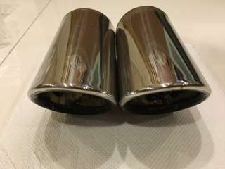 Chrome Exhaust Pipes for Audi/Volkswagen
