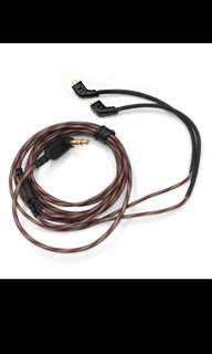 KZ Original Replacement Cable with Mic for KZ ZST/ZSR/ZS10/ED12/ES3