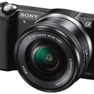 Sony Alpha A5000L 16-50mm
