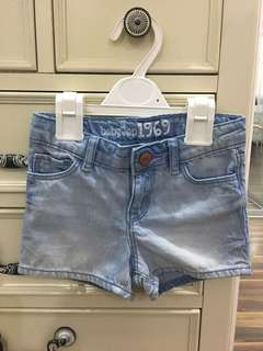 Baby Gap Girl's Denim Shorts