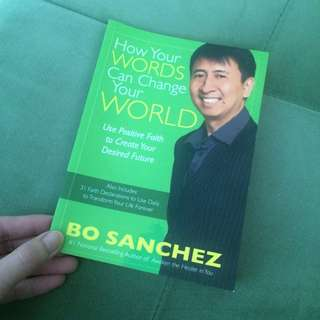 How your words can change your world by Bo Sanchez