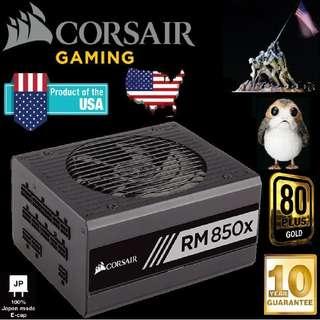 Corsair RM850X 850W 80 Plus Gold Power Supply..