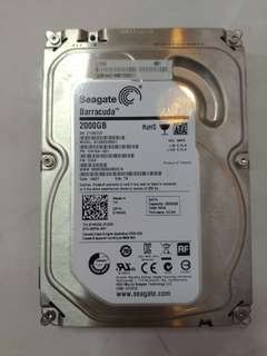 Seagate Hard Disk 2TB