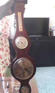 vintage display clock / a rare & clock not working  fixed price