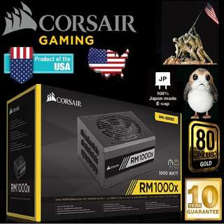 Corsair RM1000X 1000W 80 Plus Gold Power Supply..