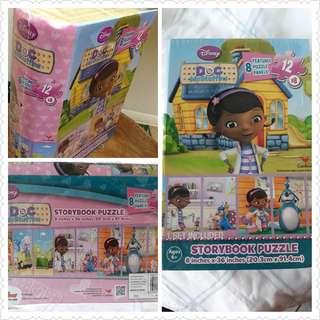 Doc McStuffins Puzzle book