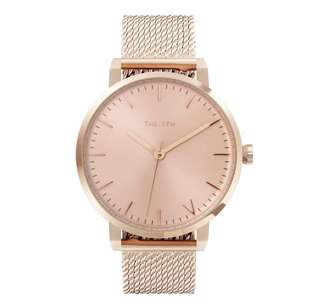 The 5th rose gold watch