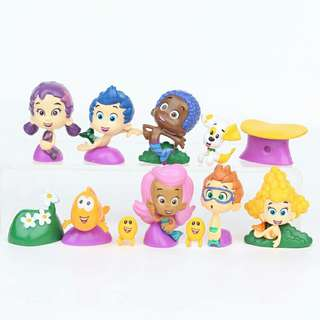 $24 Bubble Guppies Cake Topper Birthday Toys