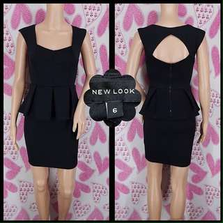 NEW LOOK Peplum Dress