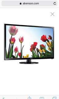 Samsung Flat Screen LED TV 24 inches