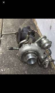 2006, 2007, 2008 Subaru Legacy BL9, BL5, BP5, BP9 VF46 Turbo with air actuator complete set as shown in photos.