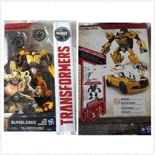 Premiere edition deluxe Tramsformers Bumblebee Figure