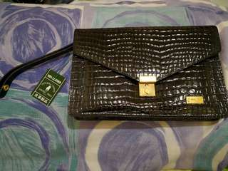Authentic United Polo Clutch Bag
