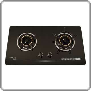 Trio Built-In Flexible Gas Cooker Glass Hob (TBH-G822EX)