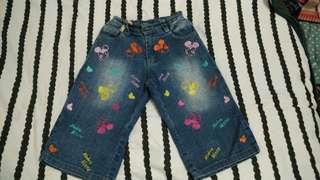 Celana jeans micky mouse