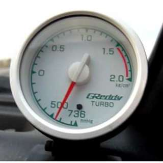 Greddy Boost Meter ... Rare Ori Japan Meter..