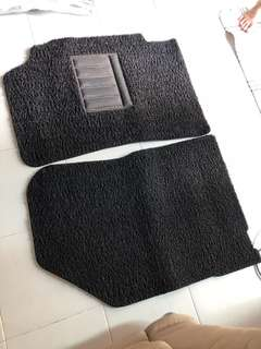 Toyota Camry 3M nomad car mat complete set (front and back)
