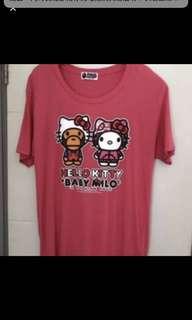 Sales.....$380日本A Bathing Ape Milo x Hello kitty