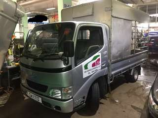Toyota Dyna 10 Ft Lorry (High Canopy)
