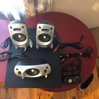 Logitech Z-5300 Speakers/Bass