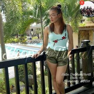 Satin Dolphin Shorts