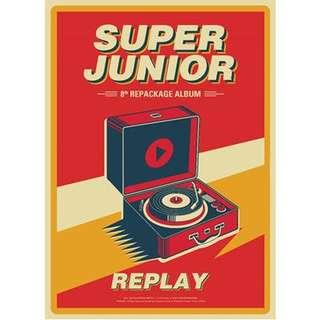 Super junior repackaging album replay