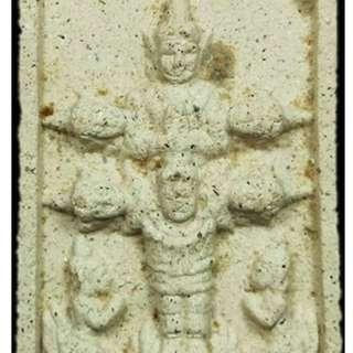 Phra Phong Phim Devada Hok (6) Sian (heads) Phong Plaai Guman Be2548 of the late LP Sakorn Wat Nong Krab (Thai amulet)