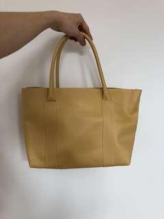 sample stock Tas Kuning tenteng