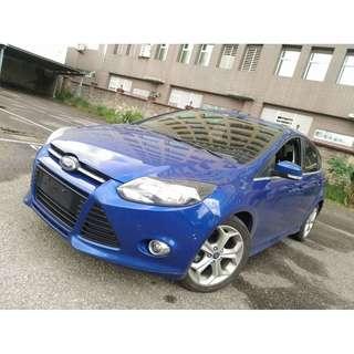 2013 福特 FOUCS 柴油版 藍