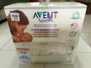 Baby milk bottles sterilizer (need microwave oven)