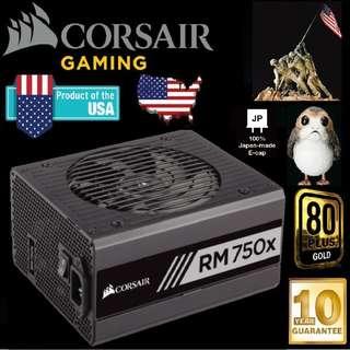 Corsair RM750X 750W 80 Plus Gold Power Supply..