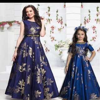 Mother & Daughter Gown