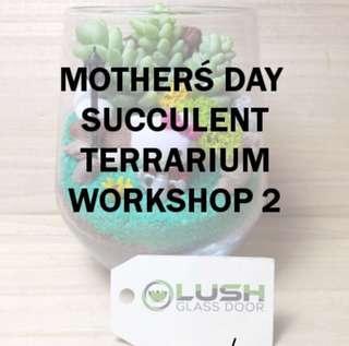 Mother's Day Terrarium Workshop