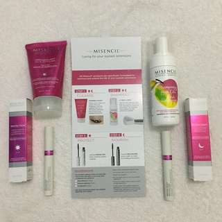 Eyelash Extensions After Care Products by Misencil