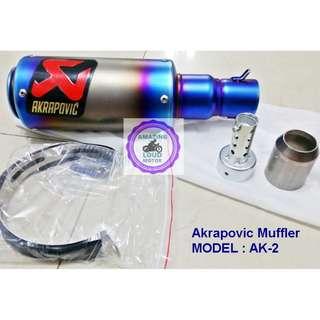Motorcycle Muffler Akrapovic Exhaust