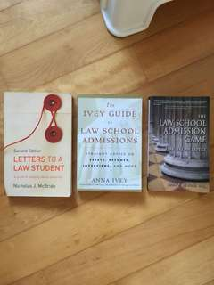 Law school preparation books