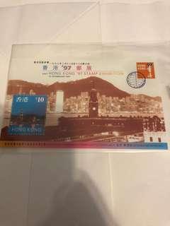 Hong Kong 97 stamp exhibition 香港通用郵票